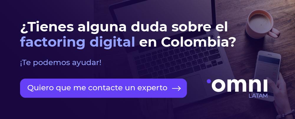 Despeja aquí tus dudas de factoring online en Colombia.