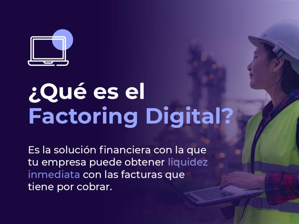 ¿Qué es factoring online?